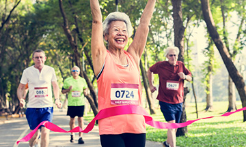 Running Marathon while retired