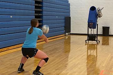 bearcat booster volleyball machine