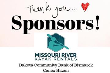 Missouri River Kayak Rentals Sponsor Sign