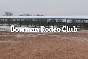 Bowman Rodeo Club