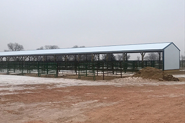 Bowman Rodeo Covered Stalls