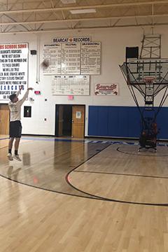 bearcat booster club basketball machine