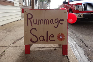 Old Red Old Ten Byway Rummage Sale