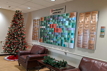 Southwest Healthcare Services Donor Wall