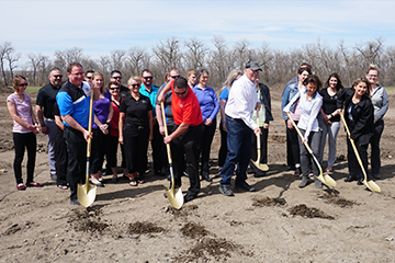 DCBT-Staff-at-fast-pitch-softball-groundbreaking