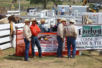 DCB&T sponsoring HOTR Bronc Riding in Dickinson