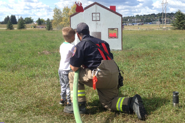 Bismarck Rural Fire Department Community Outreach