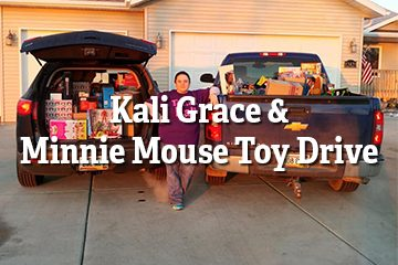 Kali Grace & Minnie Mouse Toy Drive