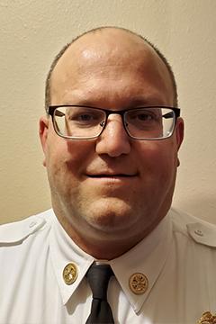 Bismarck Rural Fire Department Chief Voigt