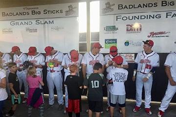 Badlands Big Sticks Founding Sponsor DCB&T