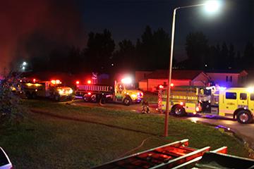 bismarck-rural fire department trucks